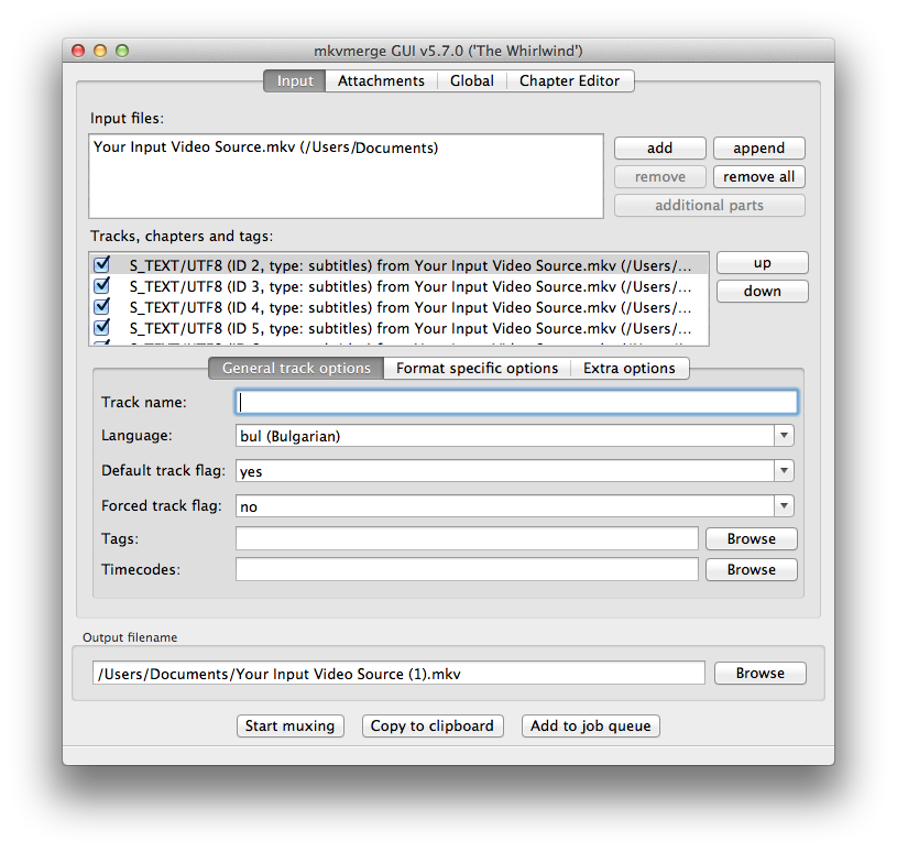 "Fixing Handbrake's ""No Valid Source Found"" Error – JESSEWEB"
