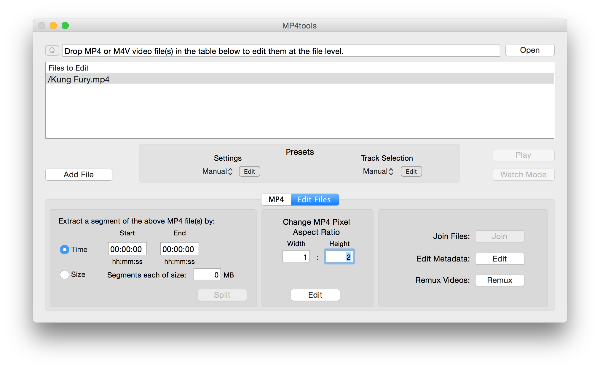 Fixing Aspect Ratios for MP4/M4V Videos – JESSEWEB